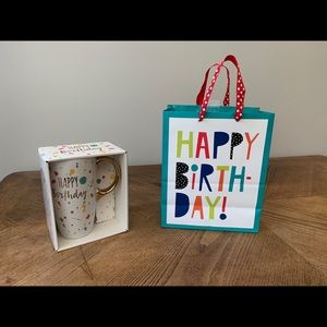 Happy Birthday Mug and Gift Bag